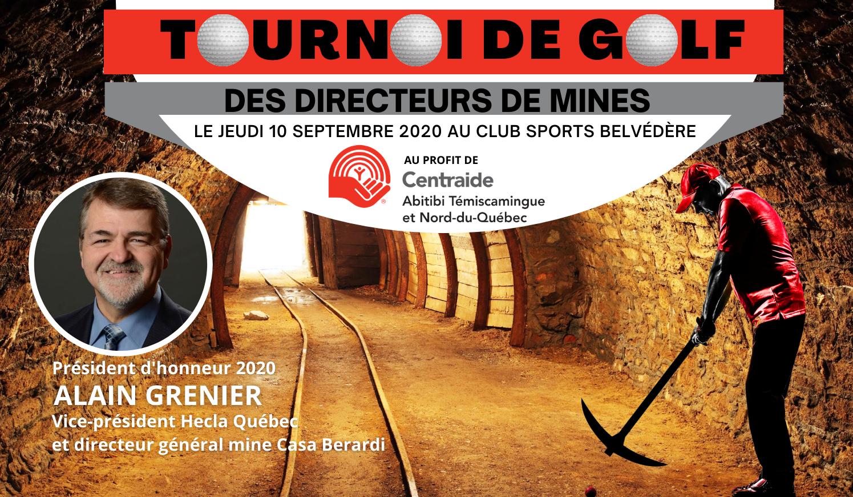TOURNOI DE GOLF ANNUEL DES DIRECTEURS DE MINES