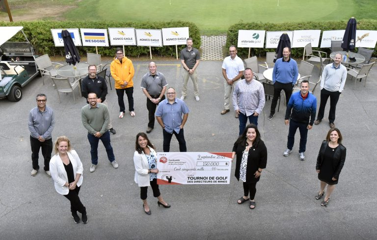Somme record pour le Tournoi de golf des directeurs de mine : une 38e campagne de financement lancée en beauté !