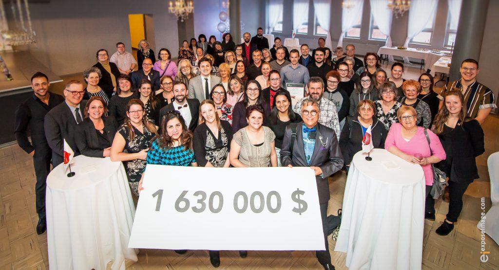 1 630 000 $ pour la campagne Centraide 2017
