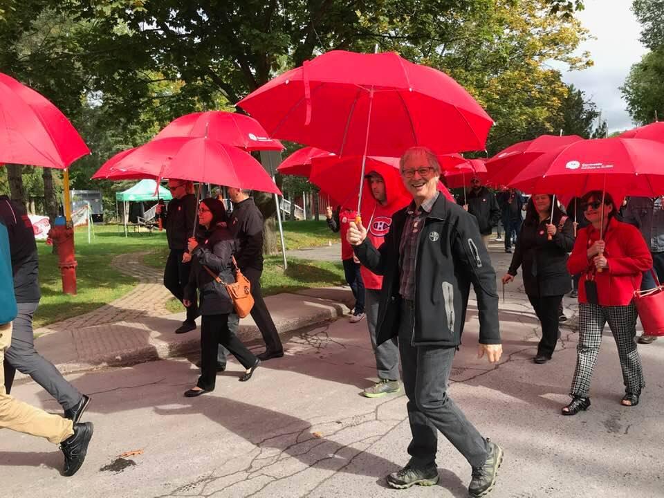 La Marche des parapluies pour aider les plus vulnérables !